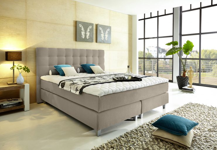 gewinne ein boxspringbett von welcon auf trendpiloten. Black Bedroom Furniture Sets. Home Design Ideas